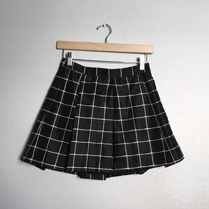 SILENCE + NOISE Grid Skirt